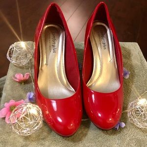 👠Comfort plus red shoes